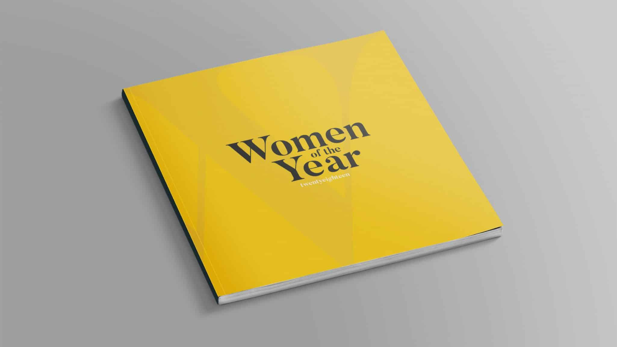 Women of the Year Booklet Cover