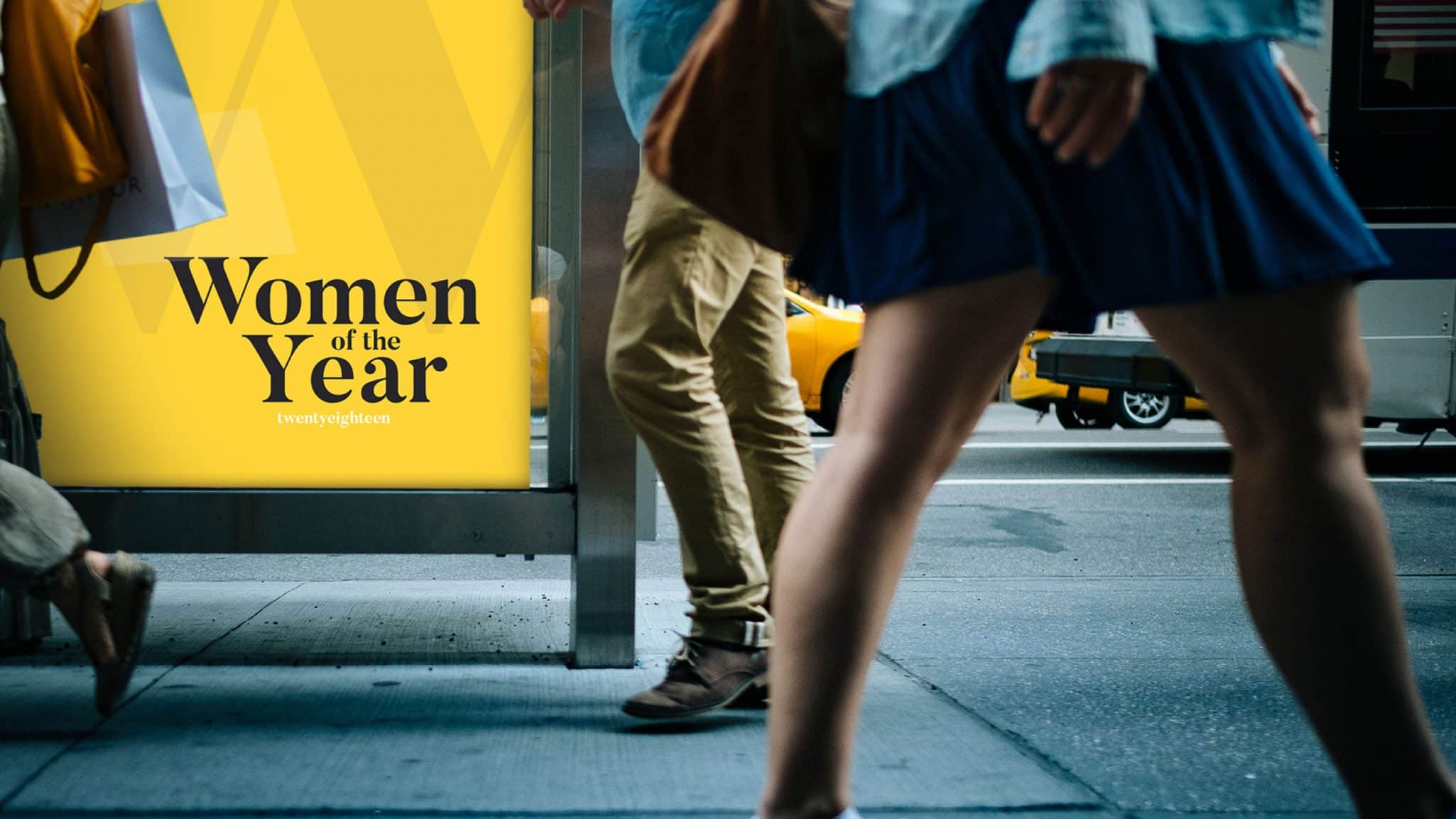 Women of the Year advertising