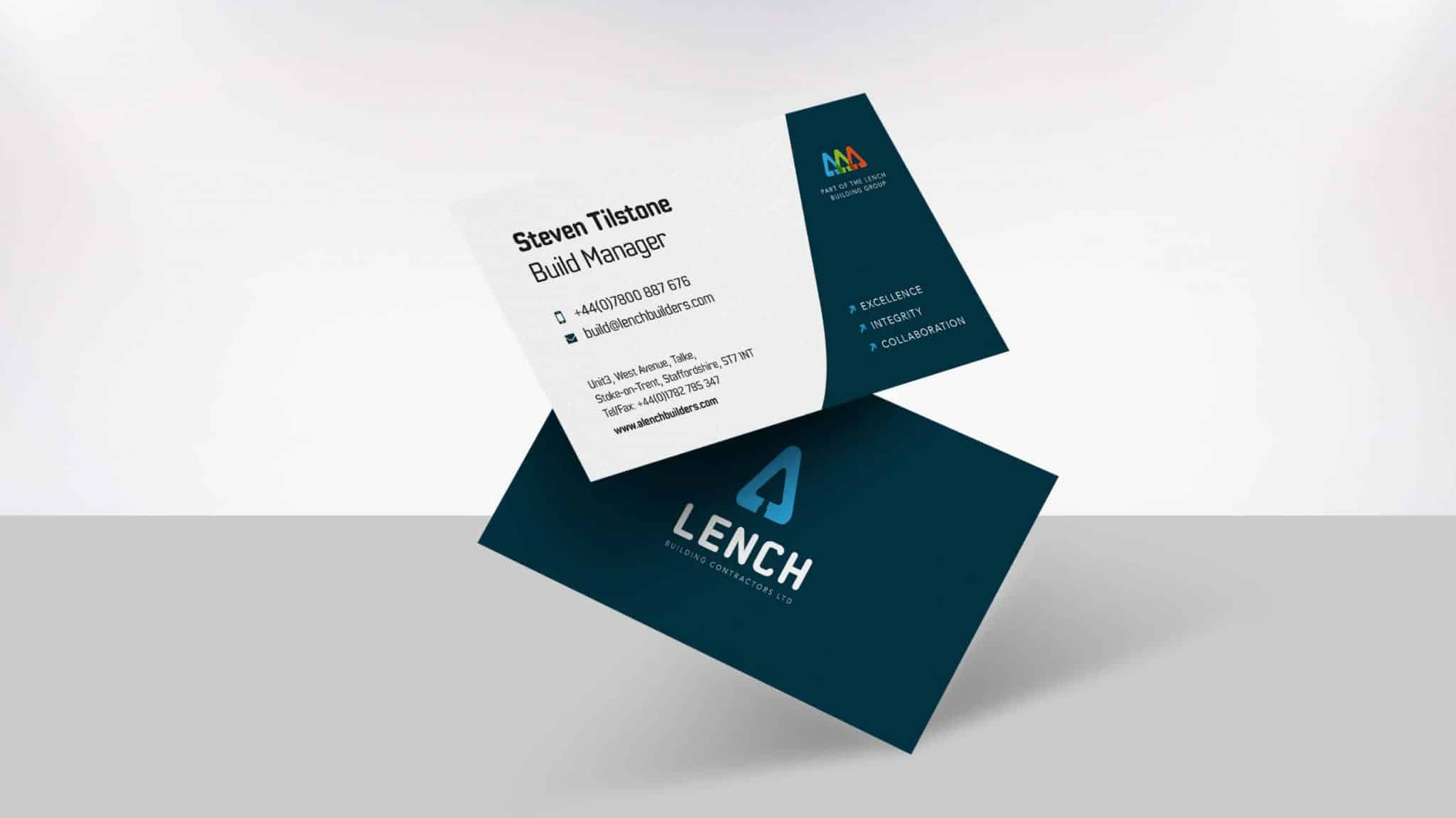 A Lench Business Card