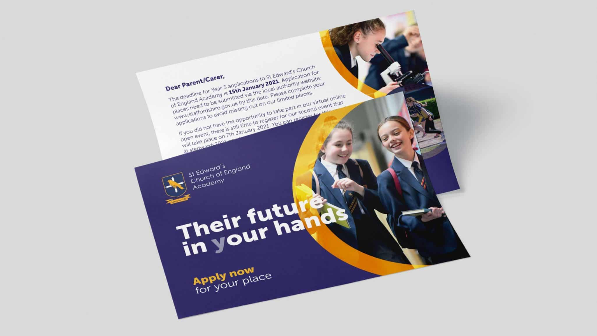 St Edward's Church of England Academy Leaflet